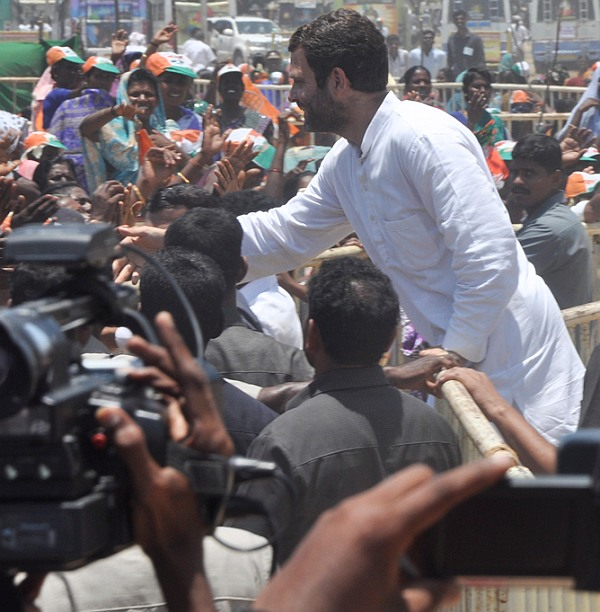 'Adani funding Modi's I, me, myself campaign'
