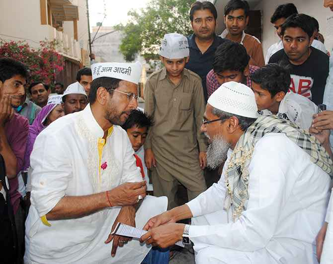 Muslims will vote for a valid Muslim candidate, says Javed Jafri.