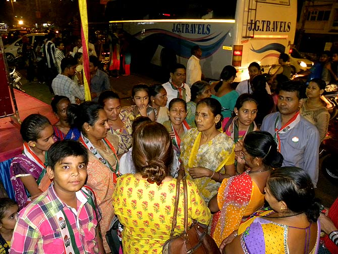 Post the Mistry rally, Vadodara working women air a litany of complaints.
