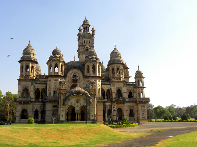 The majestic Laxmi Vilas Palace in Vadodara.