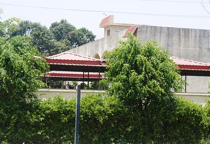 The guesthouse is said to have at least two suites which Priyanka Vadra and her family and Rahul Gandhi occupy.