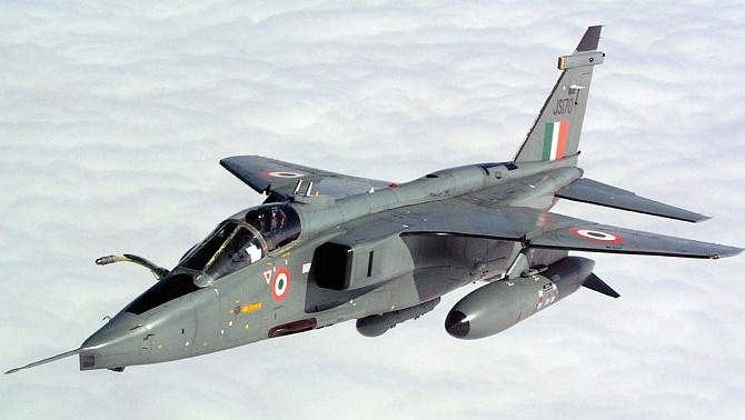 IAF's Jaguar jet crashes near Bhuj, pilot safe