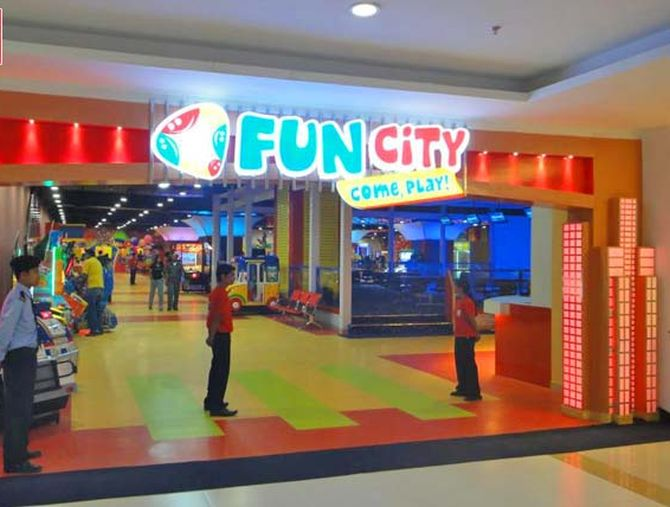 The play zone at the mall in Goregaon
