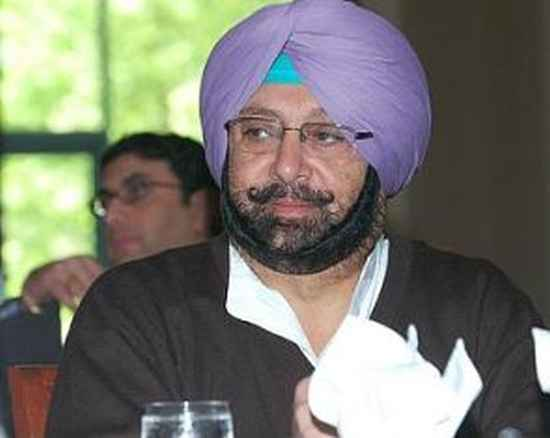 Senior Congress leader Captain Amarinder Singh