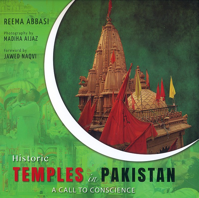 The cover of Reema Abbasi's book, Historic Temples in Pakistan: A Call to Conscience