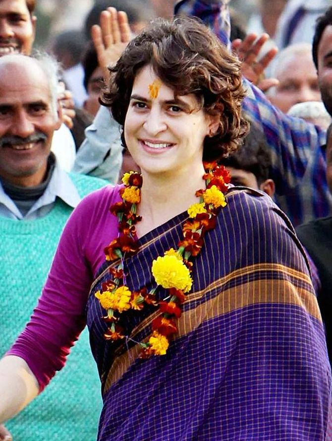 Not joining politics; stop baseless rumours: Priyanka