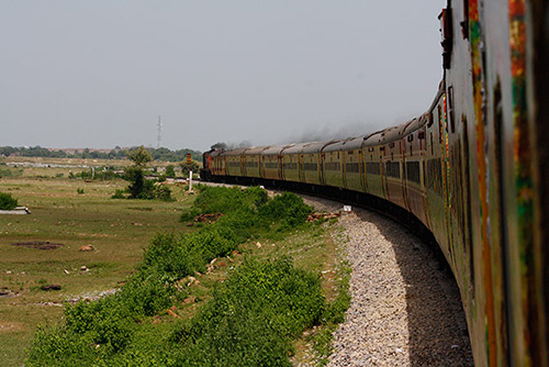 The Mumbai-Allahabad Duronto Express.