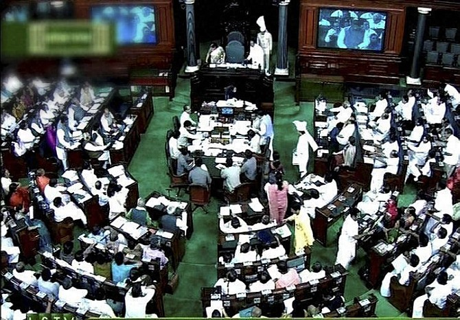 Lok Sabha sees animated debate over riots