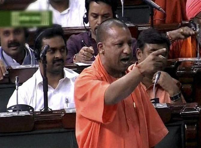 BJP leader Yogi Adityanath
