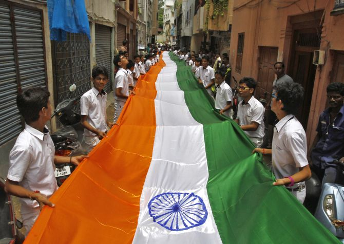 PHOTOS: India gears up to celebrate its 67th Independence Day