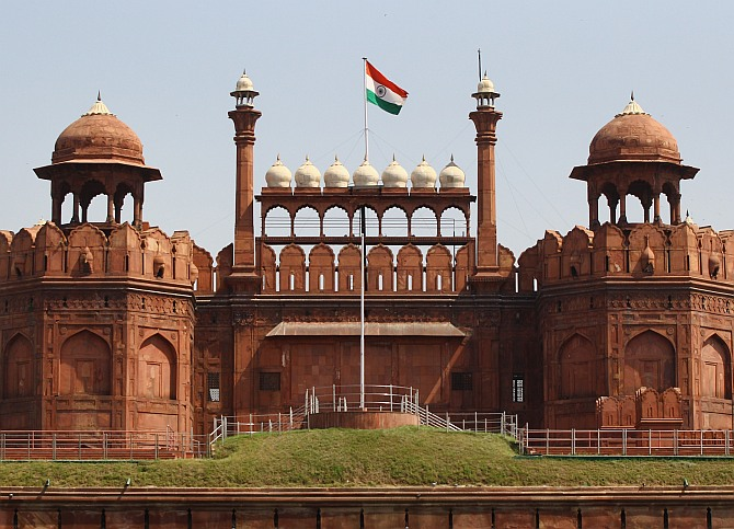 Red Fort ready for Modi's maiden I-Day speech