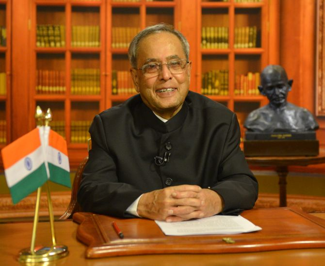 President Pranab Mukherjee's addresses nation ahead of  I-Day