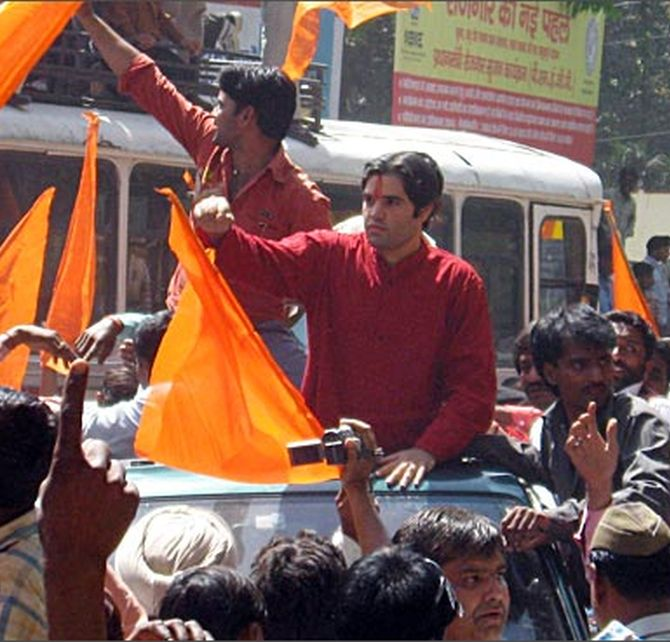 BJP's Varun Gandhi has been dropped as general secretary