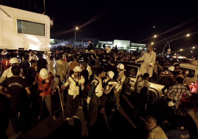 PHOTOS: Pakistan's 'Tahrir square' moment