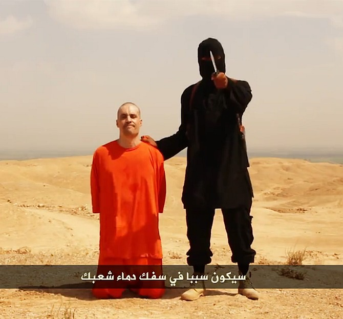US journalist's brutal execution shocks the world