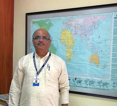 Dr Vinay Sahasrabuddhe, national vice president, Bharatiya Janata Party