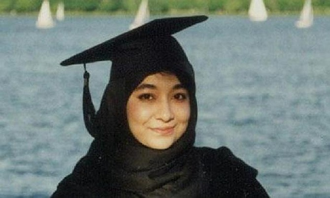 File photo of Afia Siddiqqi