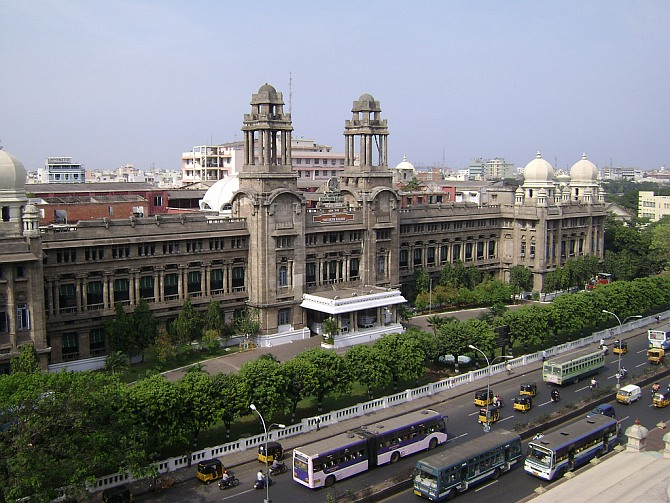 Southern Railway headquarters at Chennai