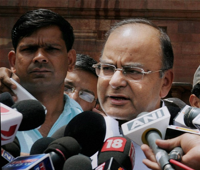 'Small rape incident' remark lands Jaitley in soup