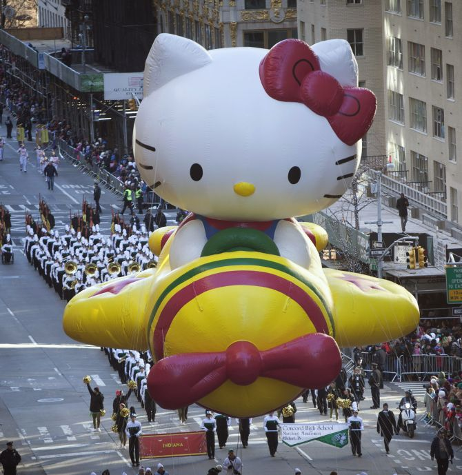 Hello Kitty blasted into space by Japan scientists