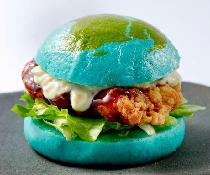 The Blue Burger from Japan is out of this world