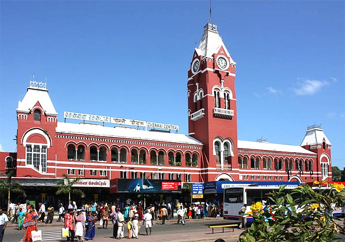 There's no word like Chennai in Tamil' - Rediff com India News