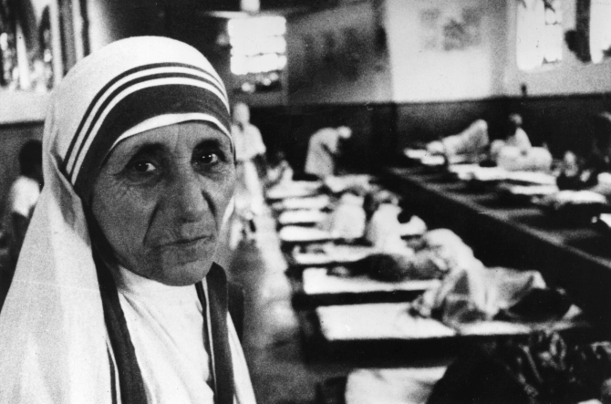 Mother Teresa in Kolkata