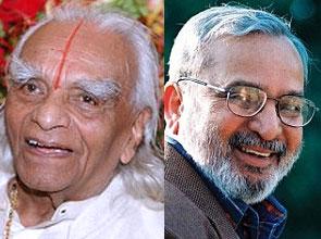 B K S Iyengar and U R Ananthamurthy
