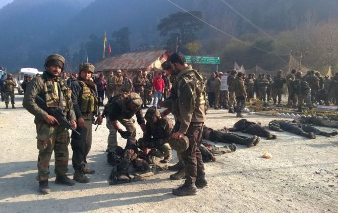 Image result for indian soldier killed 8 terrorist in uri
