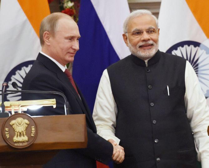 Russia Remains India S Top Defence Partner Says Modi