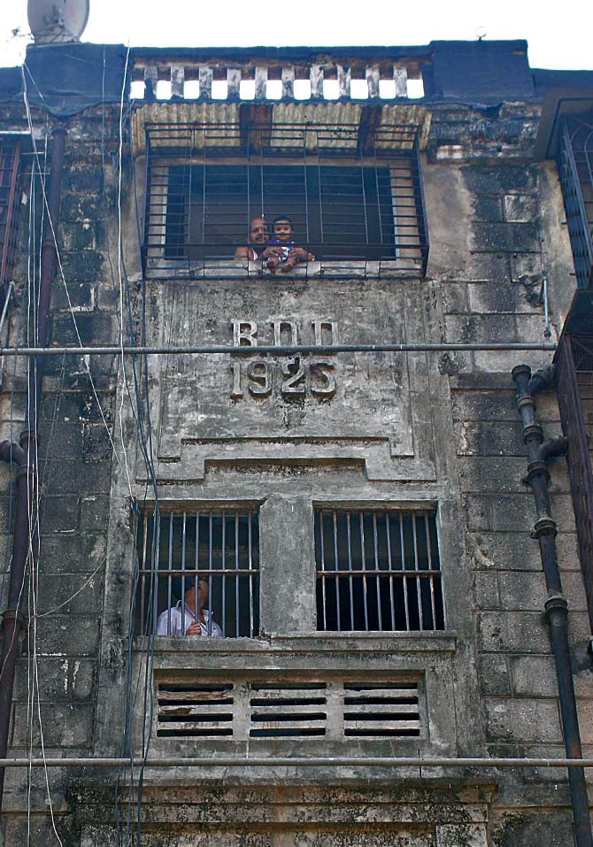 The BDD chawl building built in 1925