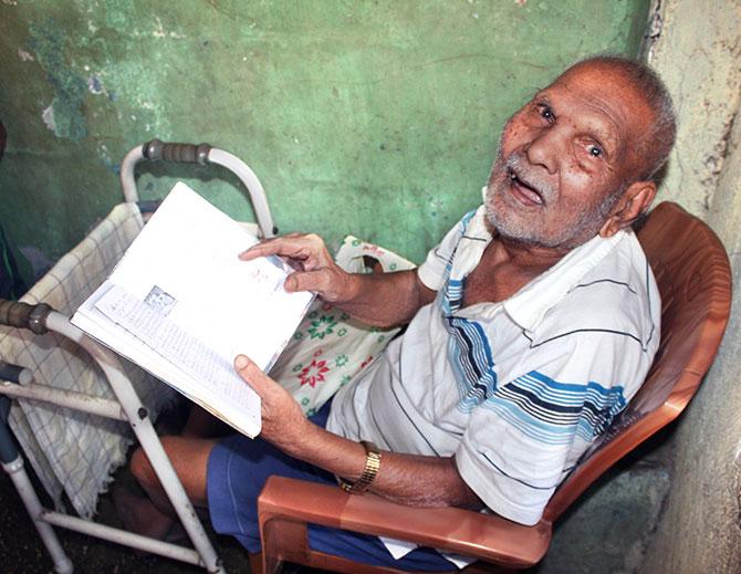 Kashinath Annaa kakade a resident since 1948