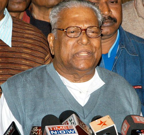 V S Achuthanandan, the Leader of Opposition in Kerala assembly