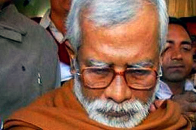 Swami Aseemanand, the terror accused.