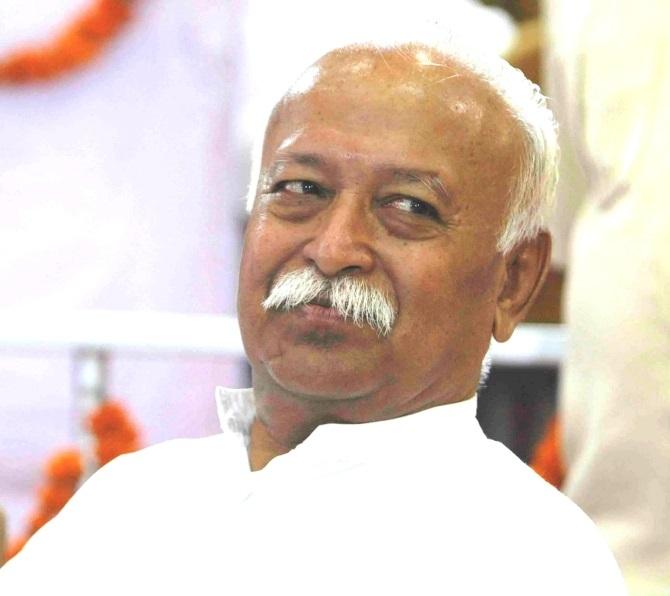 Rashtriya Swayamsevak Sangh Sarsanghchalak Mohan Bhagwat.