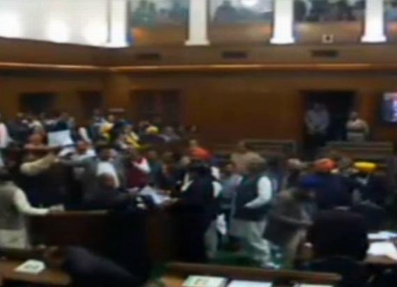 Jan Lokpal Bill fizzles out in Delhi Assembly