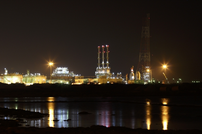 Reliance Industries KG-D6's facility is located in undivided Andhra Pradesh.
