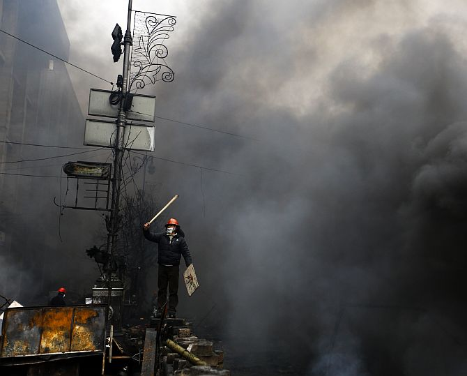 IN PHOTOS: Catastrophic violence in Ukraine protests