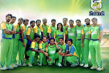 Celebrity cricket league 2019 kerala strikers match