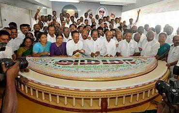 Jayalalithaa gets Parliament on her 66th birthday