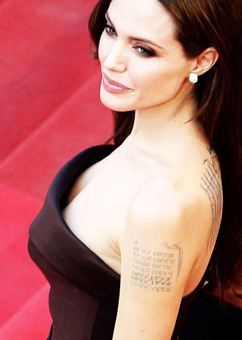Angelina Jolie arrives on the red carpet for the screening of The Tree of Life at the 64th Cannes Film Festival in May, 2011.
