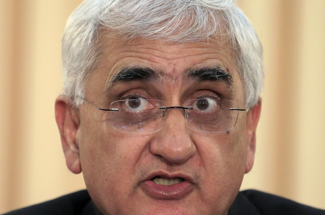 External Affairs Minister Salman Khurshid