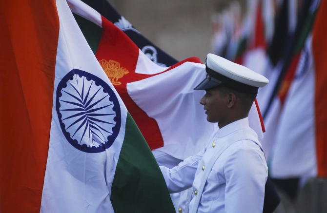 'Our people are very professional and very highly motivated,' says Admiral Arun Prakash.