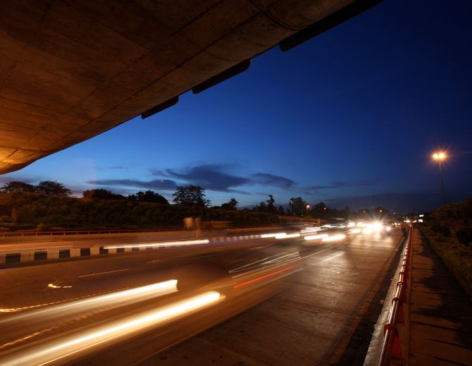 17,394 kms of highways were built or upgraded in the last 9 years by the NHAI, the report notes