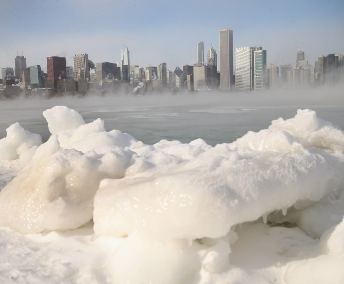 POLAR FREEZE: Here's a glimpse from the ice age
