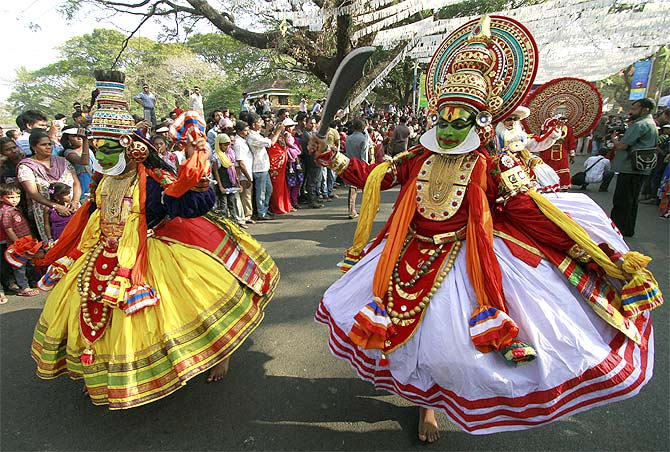 Image result for kathakali dance