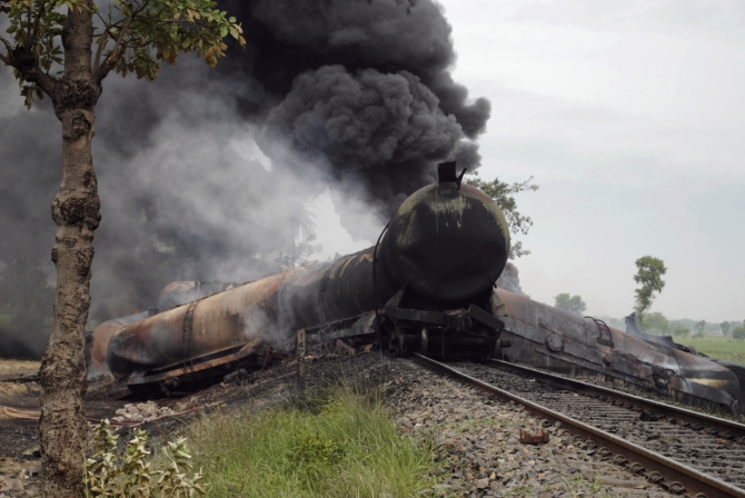 Why does Indian Railways have so many burning trains?