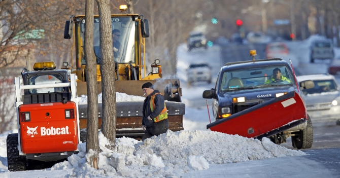 After the big freeze, US heads for the big thaw