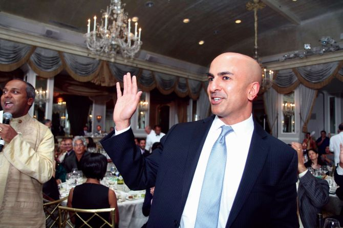 Neel Kashkari at the India Abroad Person of the Year 2013 event in New York City.