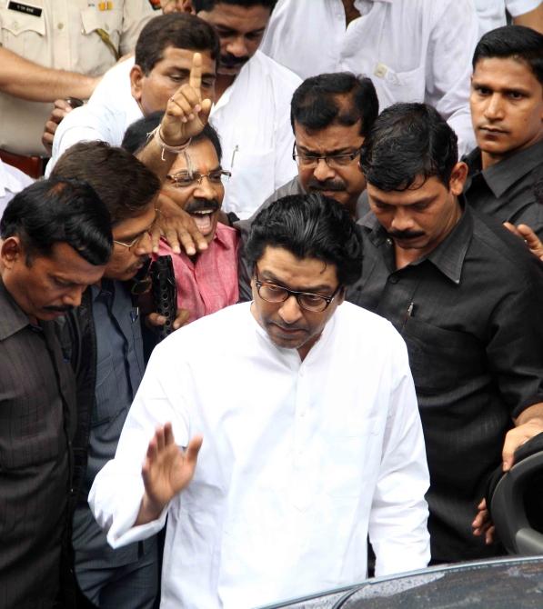 Maharashtra Navnirman Sena supremo Raj Thackeray